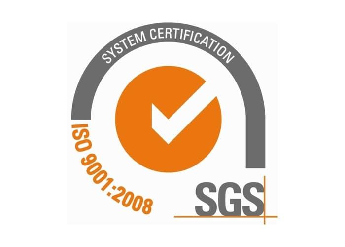 SGS ISO Zertifizierung